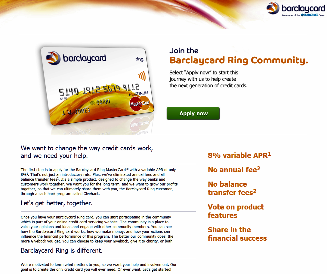 Barclaycard's Credit Card Tapping Crowdsourcing