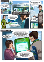 Standard Chartered Mobile Banking Comic Book Superheroes - 3