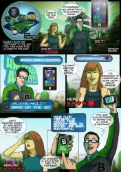 Standard Chartered Mobile Banking Comic Book Superheroes - 1