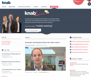 Knab.nl New Bank Launches in the Netherlands Live