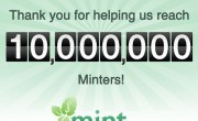 Mint.com 10 million users thank you 180x110 Mint.com Becomes First PFM Community to Reach 10 Million Users (70% Use Mobile)