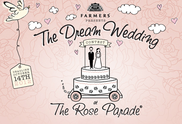"Farmers Insurance Makes History In Announcing ""The Love Float,"" The First Ever Live Wedding Featured In The Rose Parade"