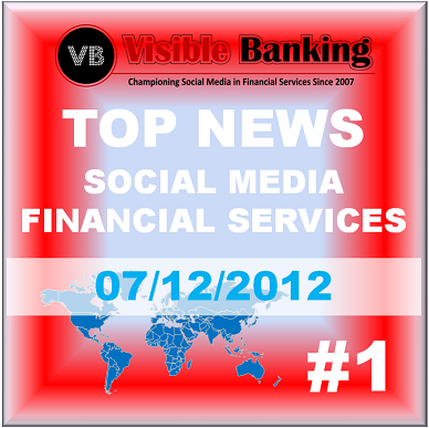 Top News Social Media Financial Services Daily #1 on Visible Banking