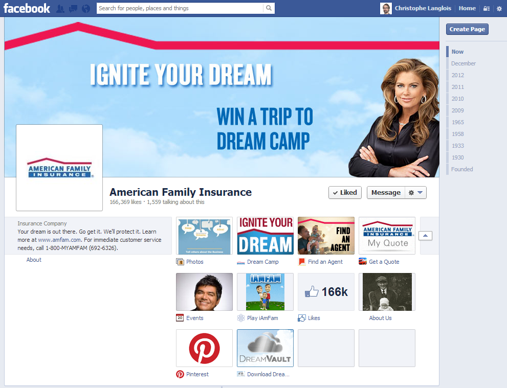 American Family Insurance Social Media Strategy Facebook