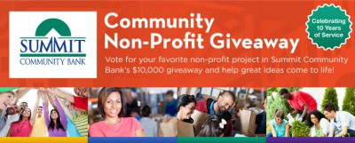 Community Bank Launches $10,000 Facebook Contest To Support Local Charities