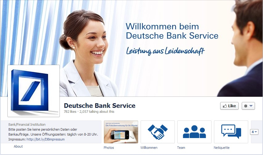Deutsche Bank Taps Social Customer Care Banking