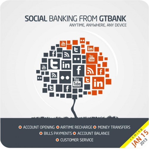 GT Bank CEO Launches Secure Online Banking App on Facebook