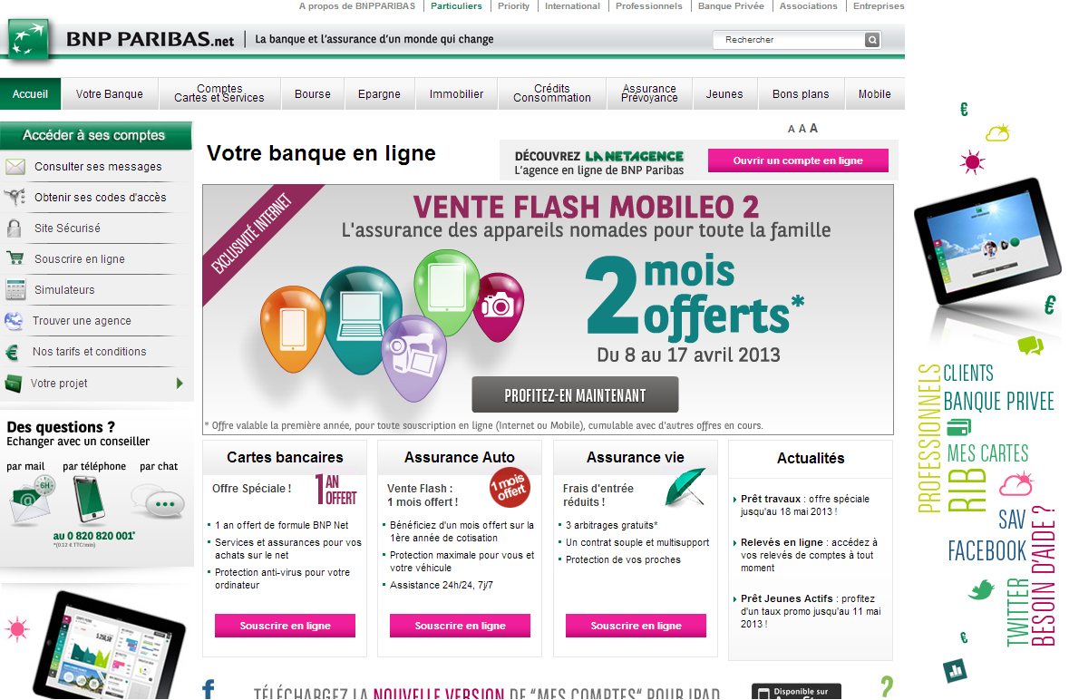 BNP Paribas to launch hello bank digital social media bank goal 500k new customers by 2018