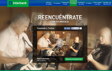 Interbank Peru Invites Banking Customers Use Twitter Facebook SocialMediaBanking
