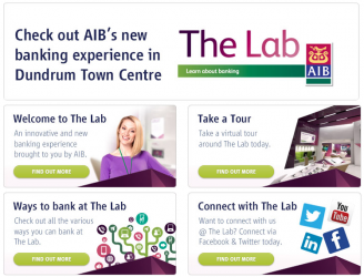The Lab AIB Bank Launches Futuristic Branch Banking Innovation Homepage