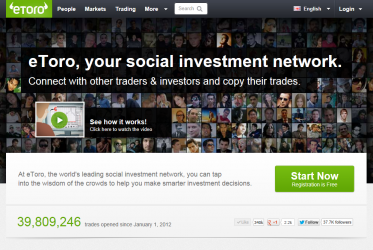 Hackathon eToro Social Investment Network Open Innovation