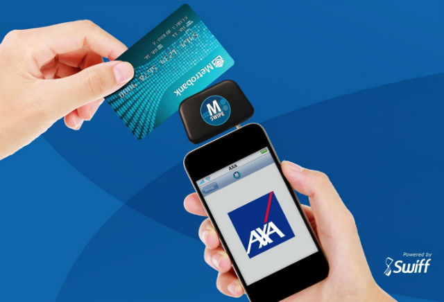 Axa Metrobank Card Square Mobile Payments Insurance Innovation