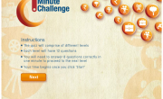 ICICI Bank Facebook App Game 1 minute challenge