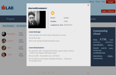 Erste Bank Innovation Lab Sparkasse Gamification Leaderboard