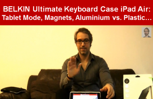REVIEW BELKIN Ultimate Keyboard Case iPad Air Sleek Design Video