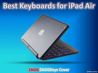 ZAGGKeys Cover for iPadAir | Best iPad Keyboard