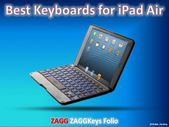 ZAGGKeys Folio for iPadAir | Best iPad Keyboard