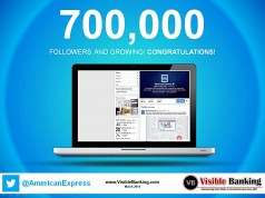 American Express Twitter Followers 700k Social Payments March 2014