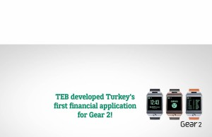 BNP Paribas TEB Mobile Banking App Samsung Gear2 Smartwatch Wearables