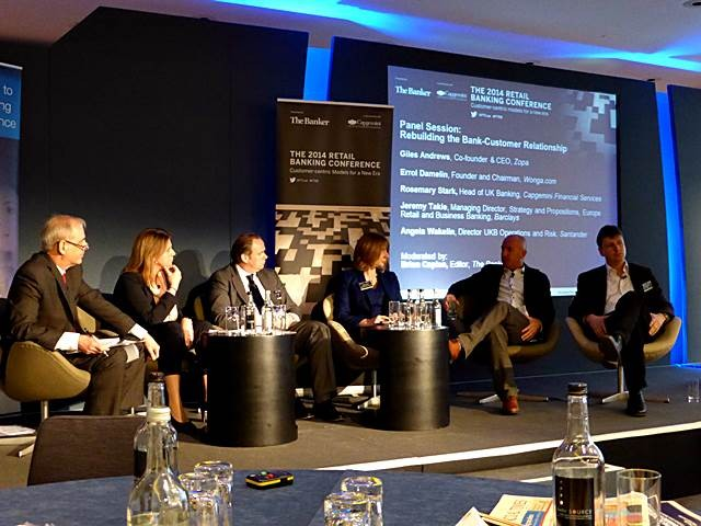 Financial Times 2014 Retail Banking Conference Cap Gemini