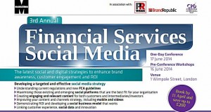 Marketing Magazine Social Media Financial Services 2014 Visible Banking
