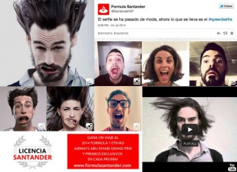 Santander Bank Selfie Contest Formula One