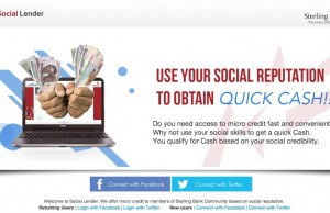 Sterling Bank Social Lender Social Reputation