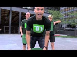 CEO TD Bank Ice Bucket Challenge Tim Hockey