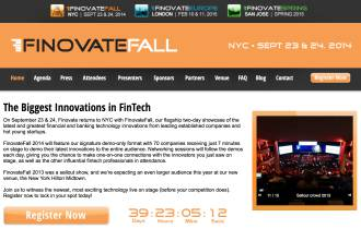 Finovate Fall 2014 FinTech Banking Innovation