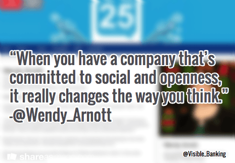 TD Bank Wendy Arnott Social Business Quotes