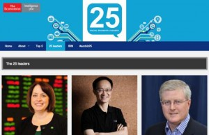 Top 25 Social Business Leaders 2014 Economist IBM