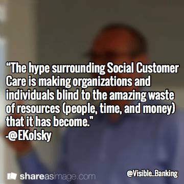 Esteban Kolsky Top Social Customer Care Quotes