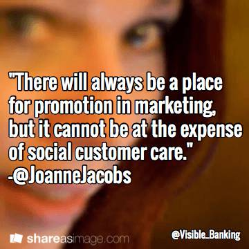 Joanne Jacobs Top Social Customer Care Quotes