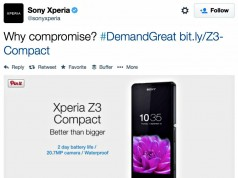 Sony Xperia Z3 Compact Bests Apple iPhone 6