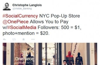 OnePiece Store SocialCurrency FakeTwitter Followers