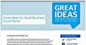 BBVA Compass Great Ideas Small Business Social Media Events