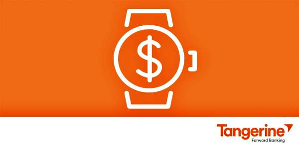 Tangerine Mobile Banking on Apple Watch | VisibleBanking.com