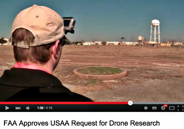 USAA Pilot Drones Insurance Claim Management