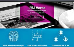 Social Business IBM Verse Email Management