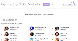 Top 10 Digital Marketing Influencers Klout Social Media