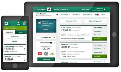 Lloyds Banking Group Simplifies Mobile Banking