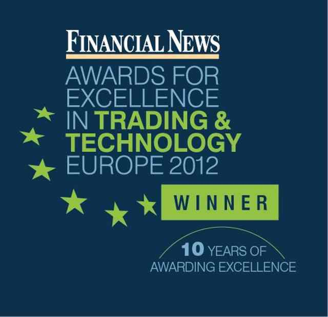 THOMSON REUTERS WINS BEST USE OF SOCIAL MEDIA IN TRADING AND TECHNOLOGY AT FINANCIAL NEWS AWARDS FOR EXCELLENCE 2012