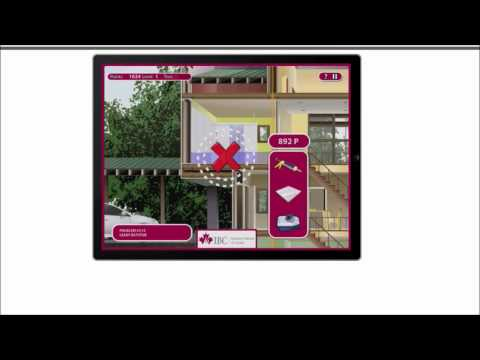 GAMIFICATION 'IBC's Dry House Challenge' - Best Insurance Game Apps For iPad