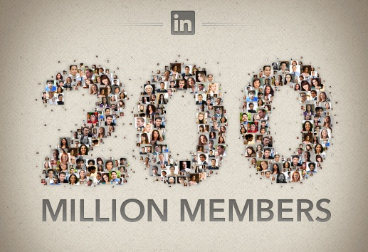 Linkedin Reaches 200M Members 2M In Financial Services