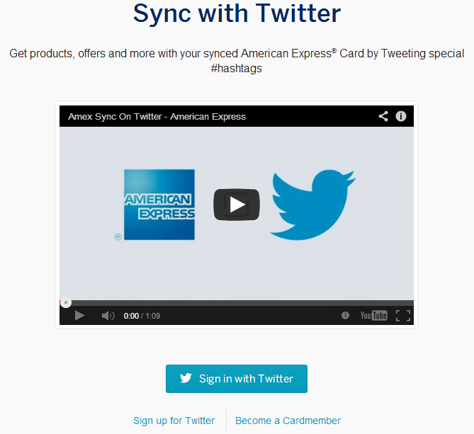 Amex Drives Financial Services Innovation With Twitter Payments Via Hashtags