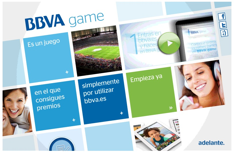 Gamification BBVA Game Wins Banking Innovation Award with its 100k Players