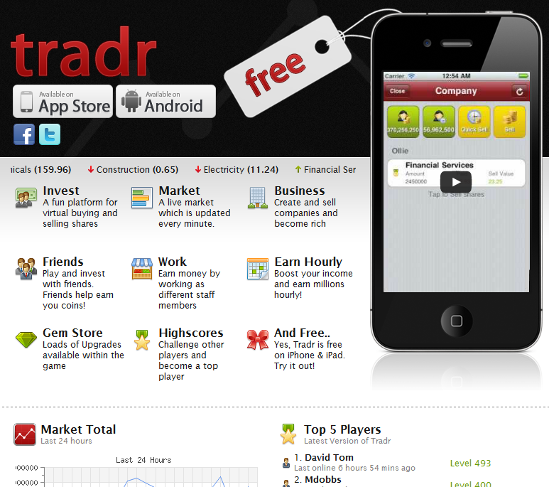 Banking Gamification Tradr App For iPad Making Investing Fun Video Review