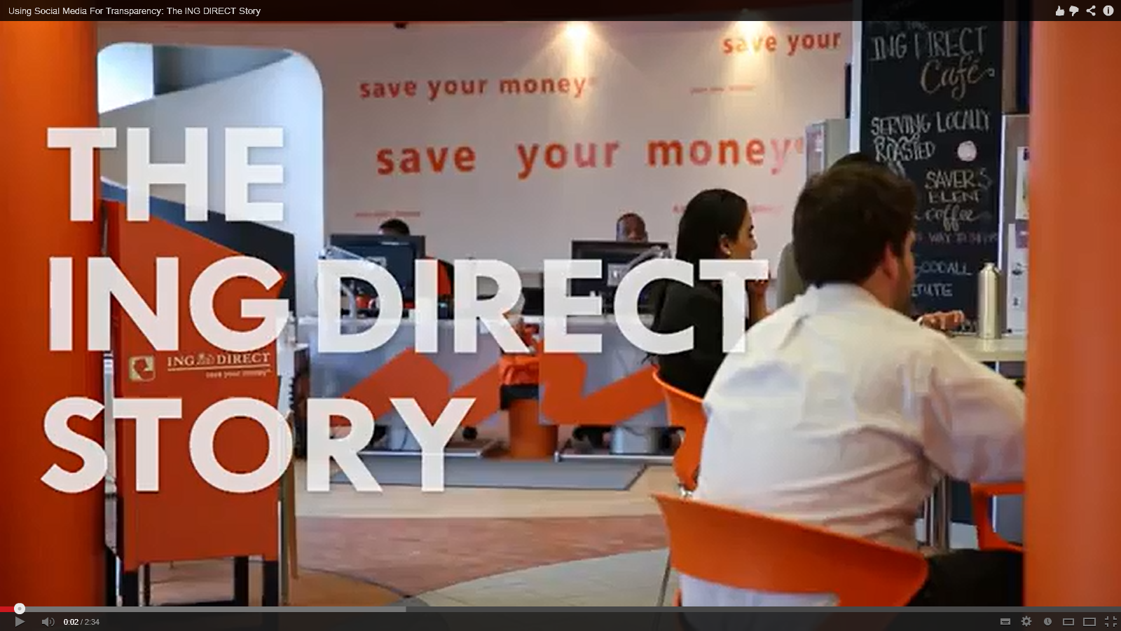ING Direct Canada Embraces Social Media Banking Drive Transparency