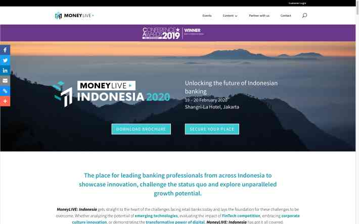 Fintech Event MoneyLive Indonesia 2020